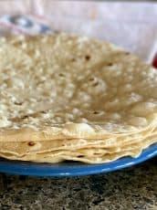 Best Burrito-Sized Flour Tortilla Recipe